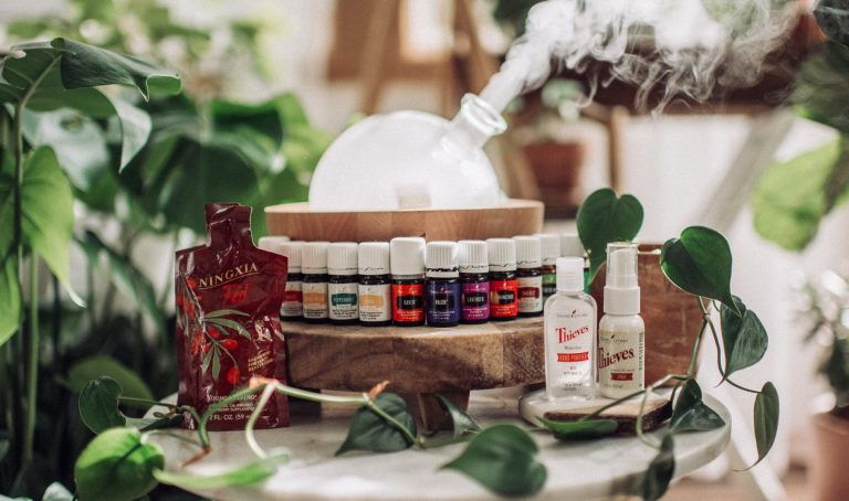 essential oils, Young Living, Young Living Essential Oils, Aria Diffuser, Thieves